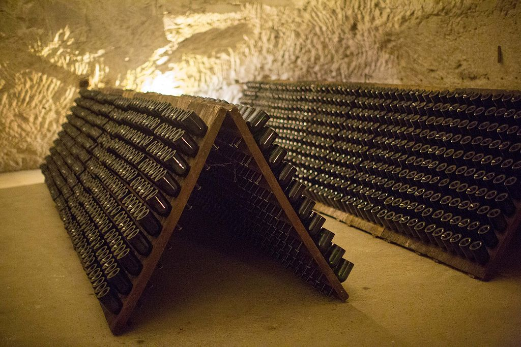 BA 3 Reims - caves