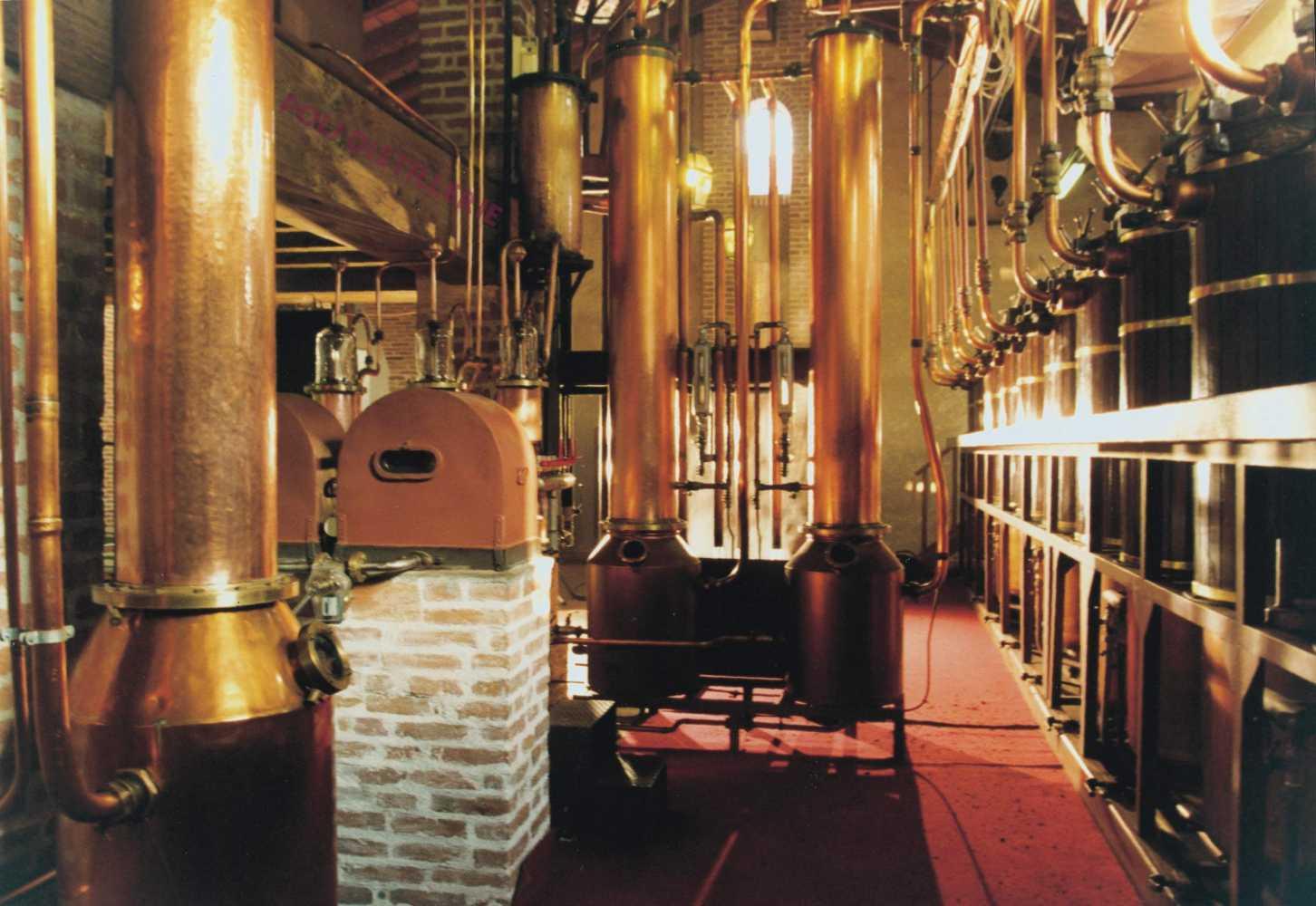 BA 5 Calvados - distillerie