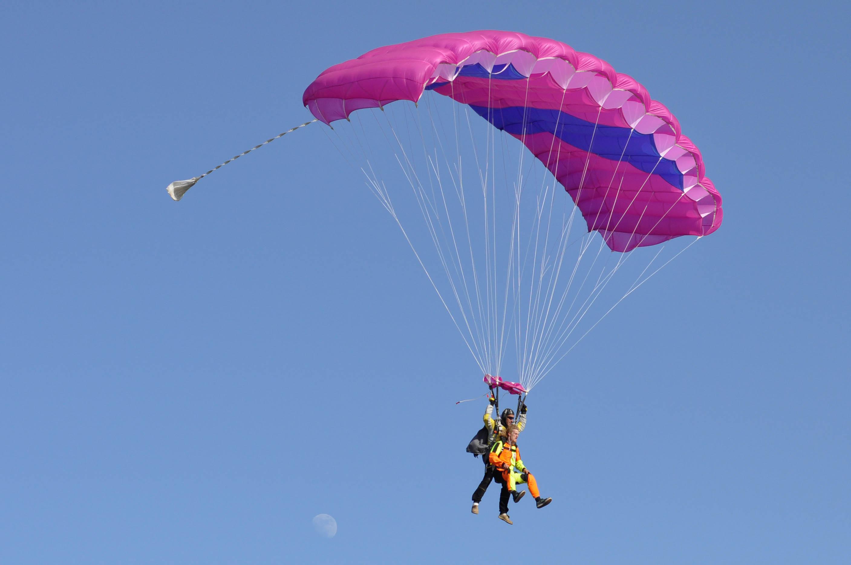 BS 8 Golf - parachute